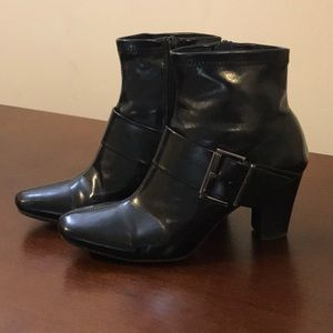 Black Nickels Ankle Boots (7.5)